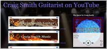 Craig Smith Guitarist on YouTube